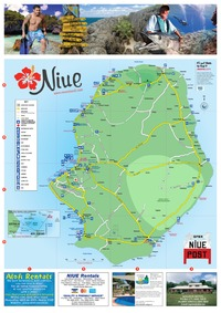 Niue Map Digital Edition - Niue map